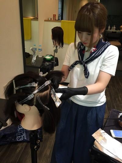 金沢市美容室4cm新入社員紹介!将来のスーパー美容師です。No.4