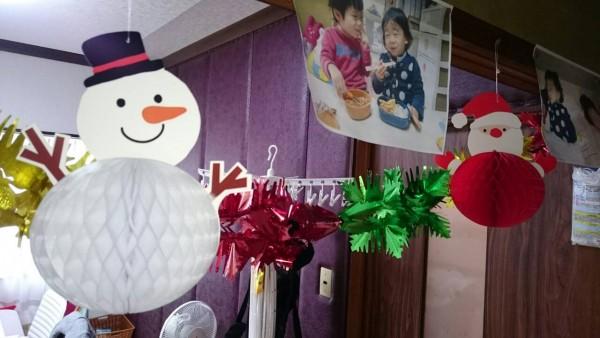 金沢市美容室4cm託児所たんぽぽ!美容院託児施設のクリスマスイベント