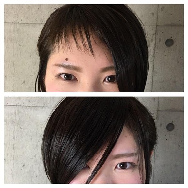 前髪は2wayバング(ダブルバング)がおすすめ!anaglam(アナグラム)仙石のサロンワーク