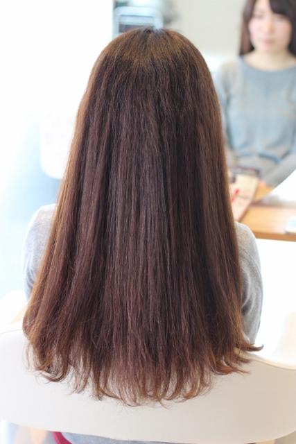ヘアドネーション用の長さのある髪をバッサリ美容院でカット!