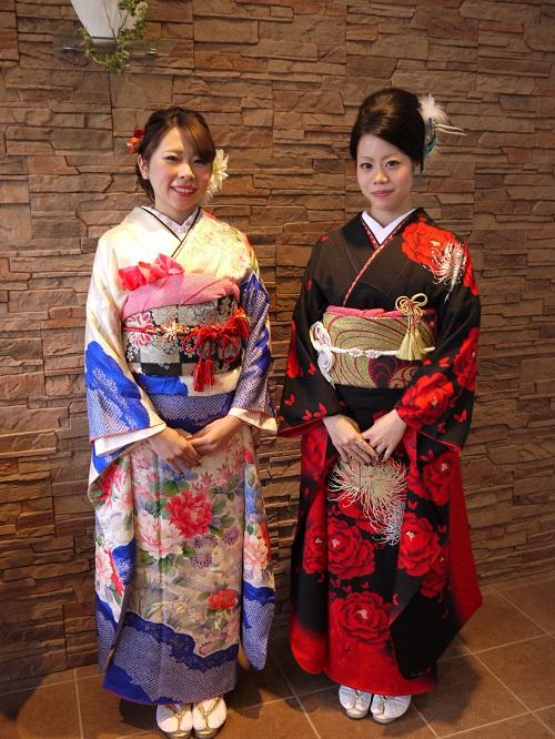 結婚式での着物の選び方!女性の着物は種類がいっぱい!