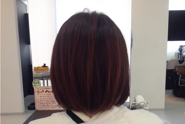 ボブの髪型にふわふわパーマをかけてみました!美容室4cmおすすめヘア